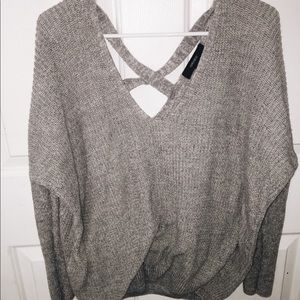 Trendy Heather Grey Sweater